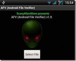 Проверка контрольной суммы файла md sha прямо на android  Перейдите