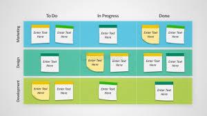 Powerpoint Project Management Templates Kanban Project Management Powerpoint Templates Slidemodel