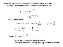 15 ms310 quantum physical chemistry
