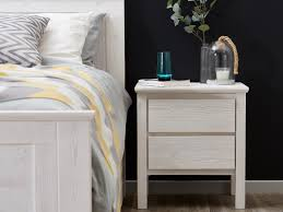 whitewash bedside tables solid timber modern bedroom furniture melbourne