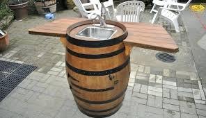 wine barrel bar plans. Wine Barrel Bar Table Plans Furniture Make Kitchen Tables. Tables