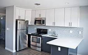modern white cabinet doors. modern white flat panel kitchen cabinet doors silver tile backsplash light hardwood floors b