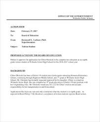 15 Policy Memo Templates Free Sample Example Format Download Sample ...