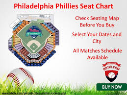 Phillies Seating Chart Philadelphia Phillies Match Tickets