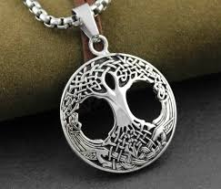 mens irish necklace jewel me