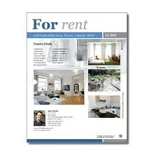 Apartment For Rent Flyer Template Free Bryan Flyers