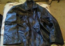 details about men s wilsons leather pelle studio leather jacket xl