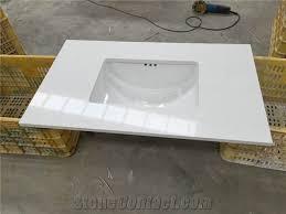 pure white engineered stone quartz vanity tops pure white quartz stone bathroom tops white quartz stone bathroom vanity tops
