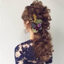 海外花嫁に人気の髪型をアレンジ日本人でも可愛いふわふわゴージャス