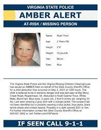 Virginia State Police cancel Amber ...