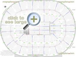 Auburn Seating Chart With Rows Palace Of Auburn Hills Seat Row Numbers Detailed Seating