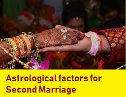Natal Birth Chart Marriage Promise Of Second Marriage In Horoscope Learn Astrology