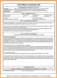 Army Monthly Counseling Examples 622 854 Army Counseling