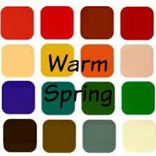 Color Me Beautiful Spring Color Chart 12 Season Color Analysis
