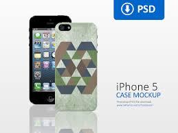 Iphone 5 Mockup Design Clean Iphone 5 Case Mockup On Behance