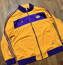 Sign up & save 10%. Nba Adidas Los Angeles Lakers Banner Warm Up Kobe Championship Jacket Size 3xl 1858339892