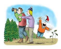 Image result for were going on a christmas tree hunt