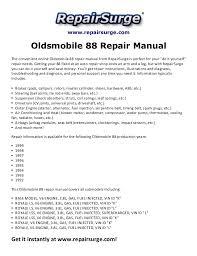 oldsmobile repair manual  repairsurge com oldsmobile 88 repair manual the convenient online oldsmobile 88 repair manual