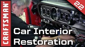 car interior restoration custom car upholstery installation craftsman you