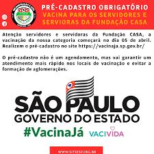 Sitsesp - #VACINAJÁ FAÇA SEU CADASTRO https://vacinaja.sp.gov.br/