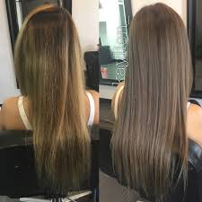 From Uneven Brassy Color To Light