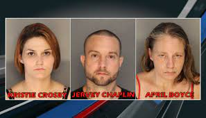 Three arrested after heroin, meth found at Colleton County home