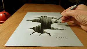 easy 3d drawing tutorial awesome 3d notebook drawings created by a 15 year old kid