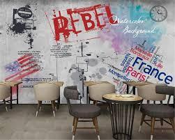 Beibehang 3d Behang Home Decoratieve Mural Graffiti Achtergrond