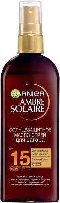 Garnier <b>Солнцезащитное водостойкое масло</b>-спрей для загара ...