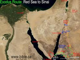 The Israelites Crossed The Red Sea At The Gulf Of Aqaba And