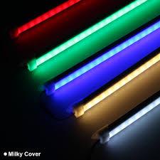 Green Led Tube Lights Us 16 23 Led Tube Bars Dc12v 5050 Led Hard Rigid Red Blue Green Led Strip Bar Light Aluminium Cover Kitchen Strip Light Transperant Milky In Led Bar