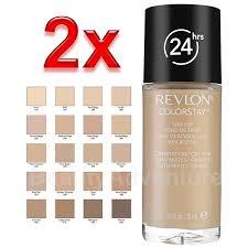 2x revlon colorstay makeup bination oily 110 ivory