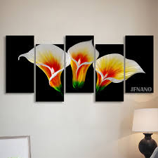 free home decoration wall art metal paintings wall painting flower wall pictures for living