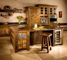unique kitchen furniture. Rustic Kitchen Funiture Ideas With Classic Design Cabinets Black Countertops Decor For New Unique Furniture T