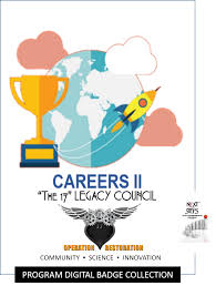 cte career cluster i program badge the next steps youth cte career cluster ii program badge