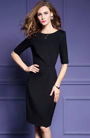 Office Uniform Designs 2017 Half Sleeve Latest Formal Dress