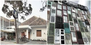 There are 2 Prawirotaman streets in Yogya and both are home to the hustle  and bustle of cafes and hotels for travelers