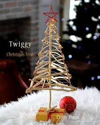 Twiggy Christmas Tree - DIY Pattern & Tutorial | Craft Passion