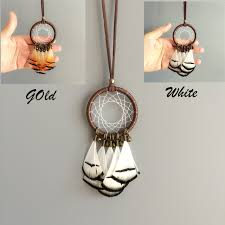 Small Dream Catcher Necklace