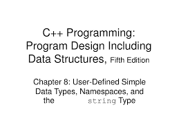 Types Of Program Design Ppt C Programming Program Design Including Data