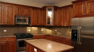 charming dark maple kitchen cabinets floors stained staining wood cabinet