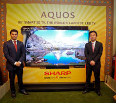 sharp 90 inch tv. world\u0027s largest tv aquos led now in kenya for sh2.3m sharp 90 inch p