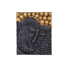 buddha face teak wood wall decor black on teak wall art australia with buddha face teak wood wall decor black big smile