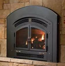 can you burn wood in a gas log fireplace