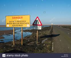 Causeway Tide Chart Tide Tables Stock Photos Tide Tables Stock Images Alamy