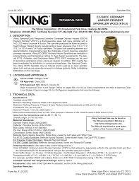Sprinkler K Factor Chart Ec Qrec Ordinary Hazard Pendent Sprinkler Vk572 K14 0