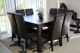 tigress direct solid hardwood square dining table 8