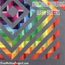 The Free Motion Quilting Project: Collaboration: Machine Quilt ... & Collaboration: Machine Quilt Straight Lines with Quilting Rulers Adamdwight.com