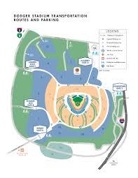 Dodger Stadium Seating Chart 2018 Dodger Stadium Parking Lot Map Map 2018