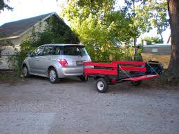 Scion xA Questions - can an xa tow a small pop-up tent trailer ...